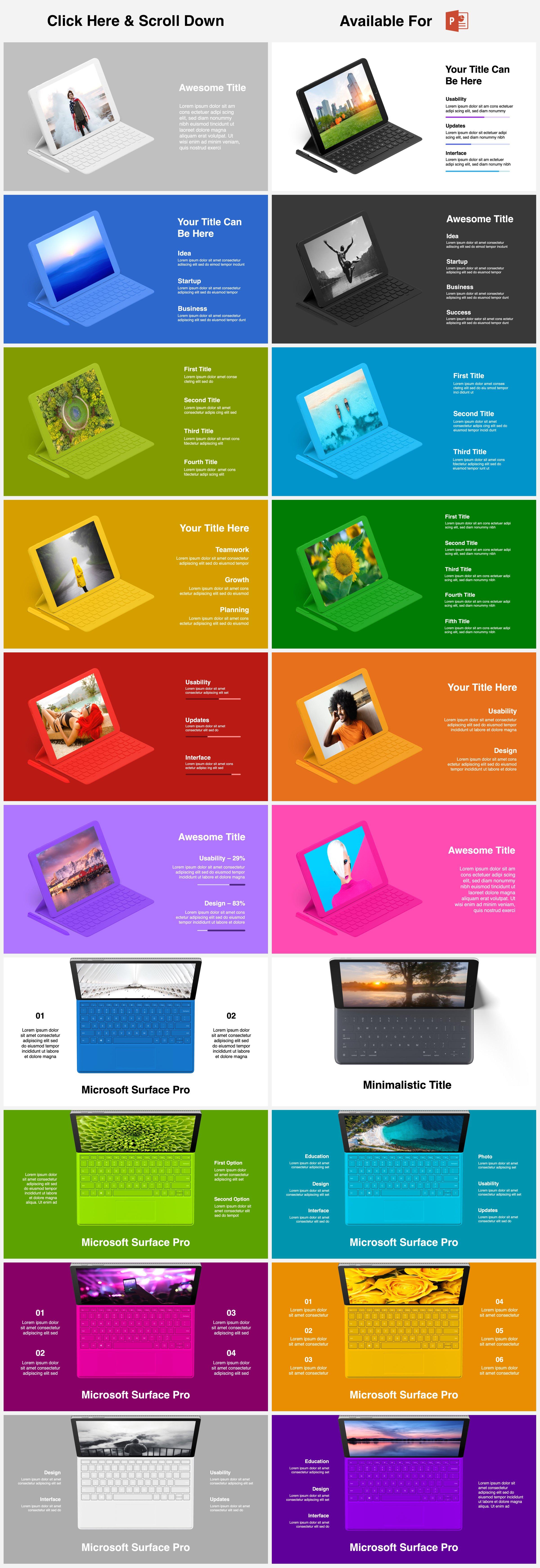 Animated Mockups Presentation Bundle. Infographic Templates. example image 27