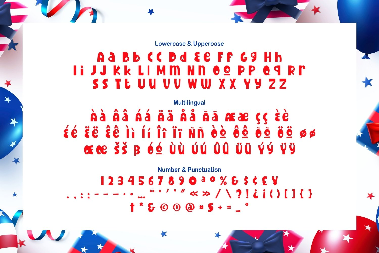 Redstar - Fancy and Funny Font example image 5