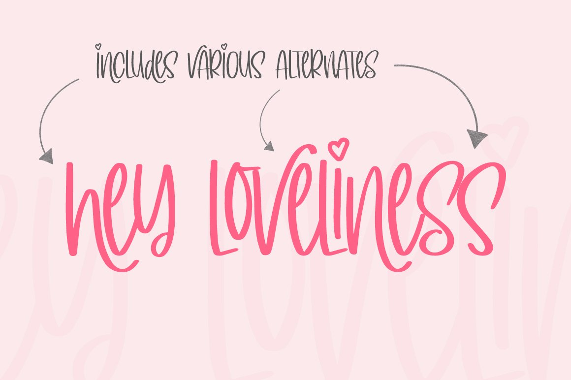 Simply Lovely Font example image 5