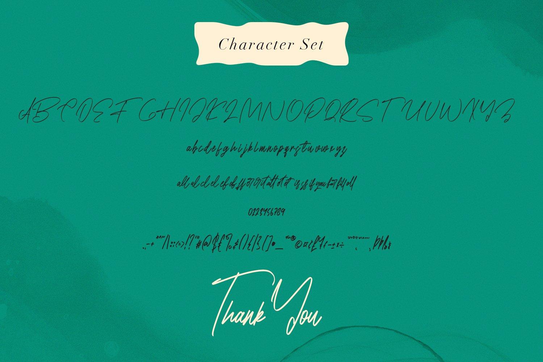 Superfarms - Signature Script Font example image 3