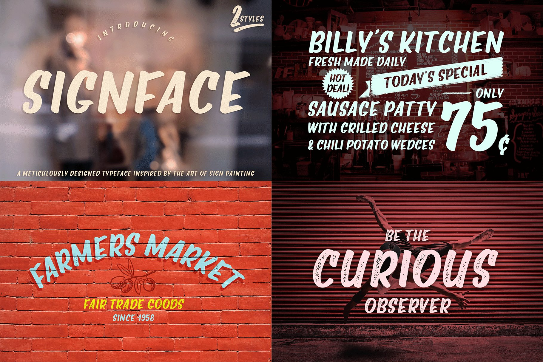 The Hand Lettered Font Bundle example image 23