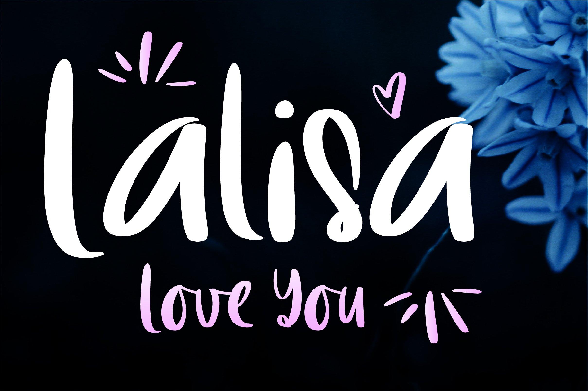 LalisaLoveYou example image 1
