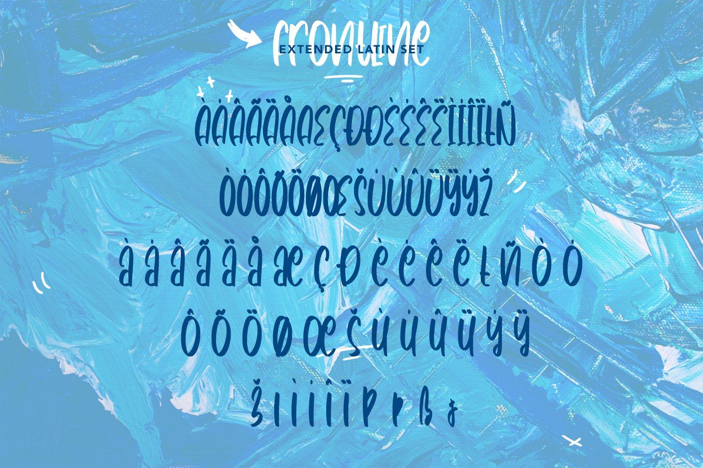 Frontline - Cute Handwritten Font example image 7