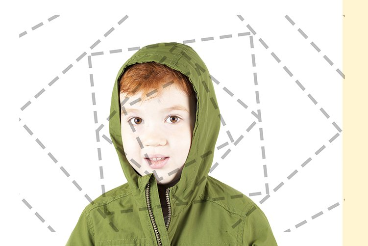 little red-haired boy example image 1