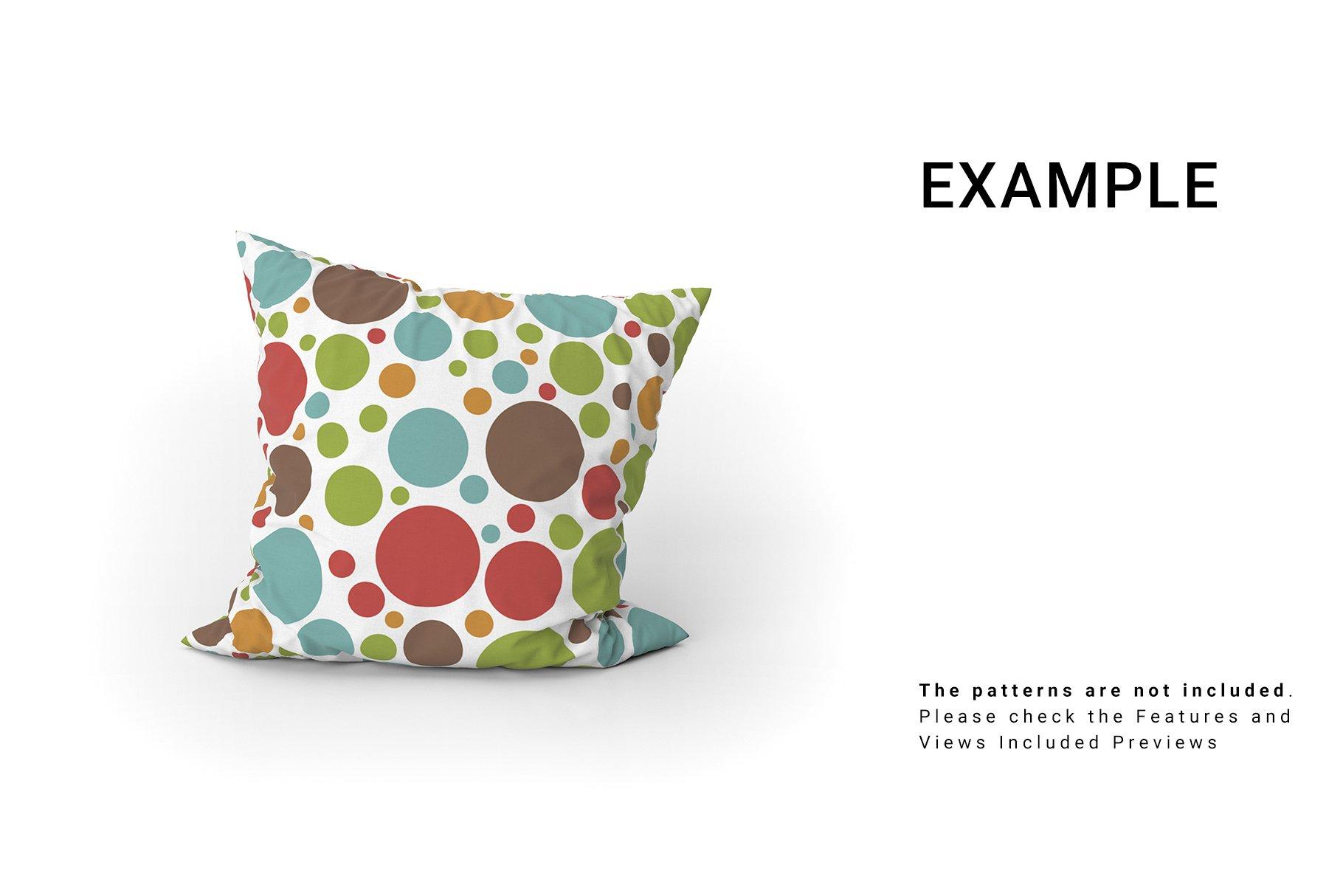 Throw Pillows Mockup Set example image 6