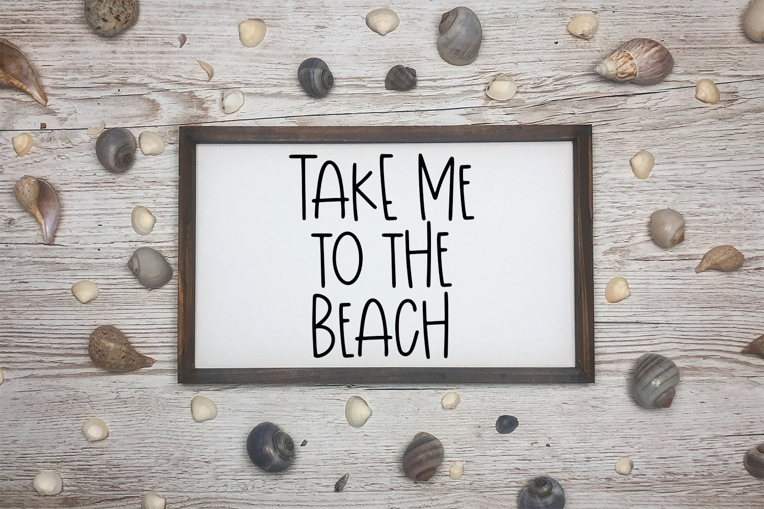 Sunshine Time - A Quirky Hand-Lettered Font example image 2