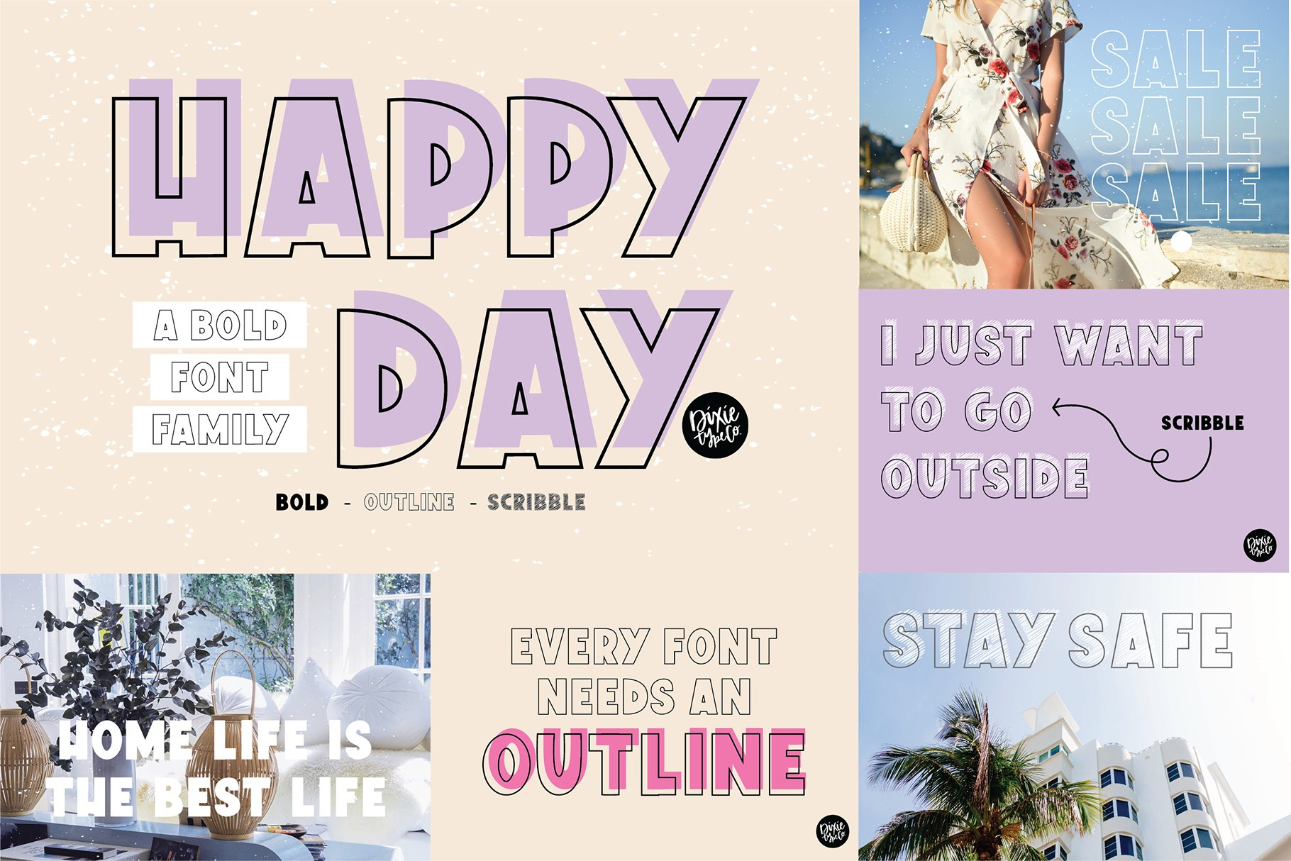 Hand Lettered Font Bundle by Dixie Type Co. example image 7