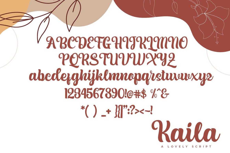 Kaila Script example image 4