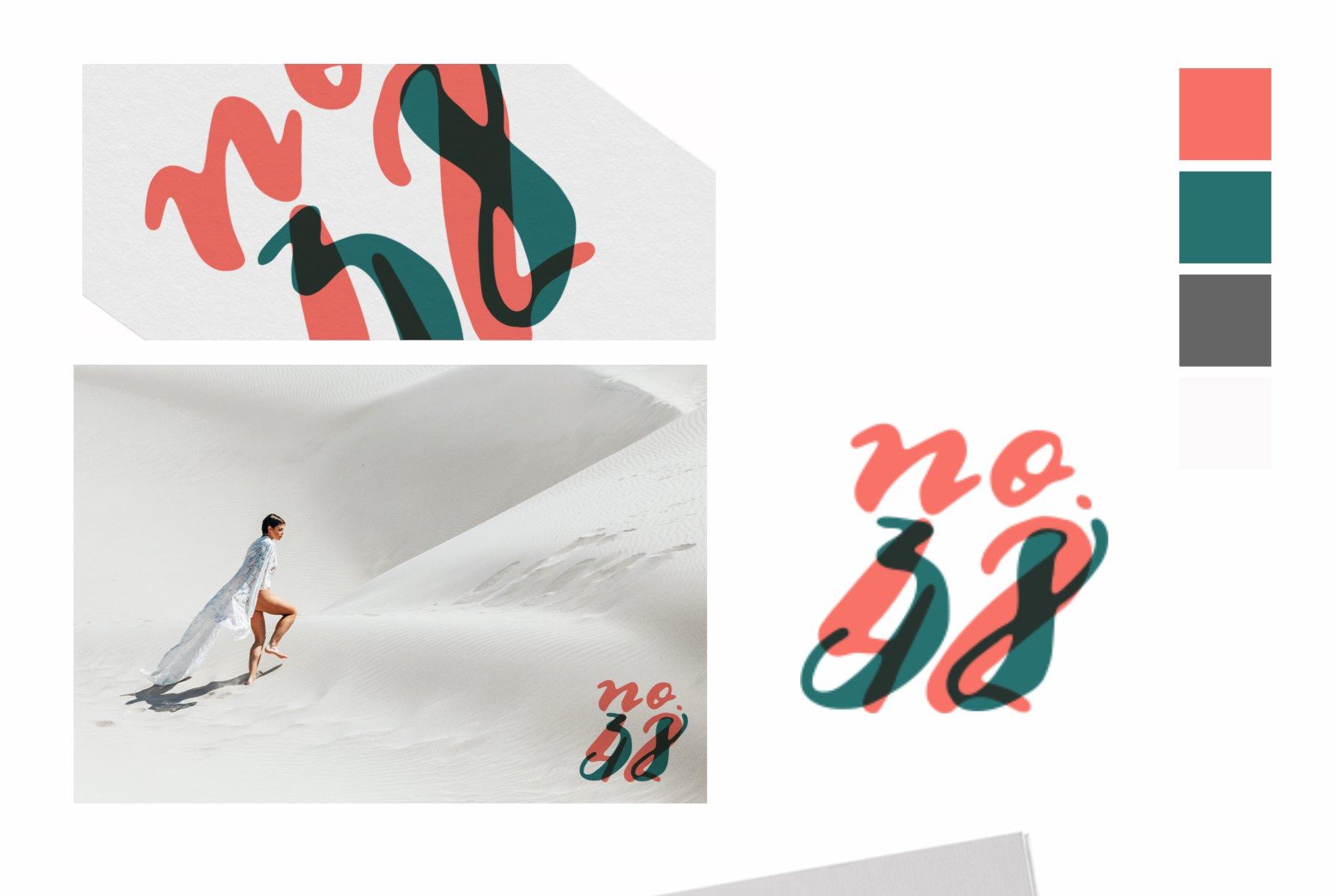 Multilingual Brush Font- Naquia Font example image 2