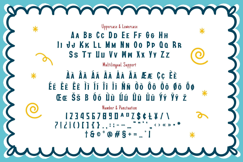Kreethan Font example image 3
