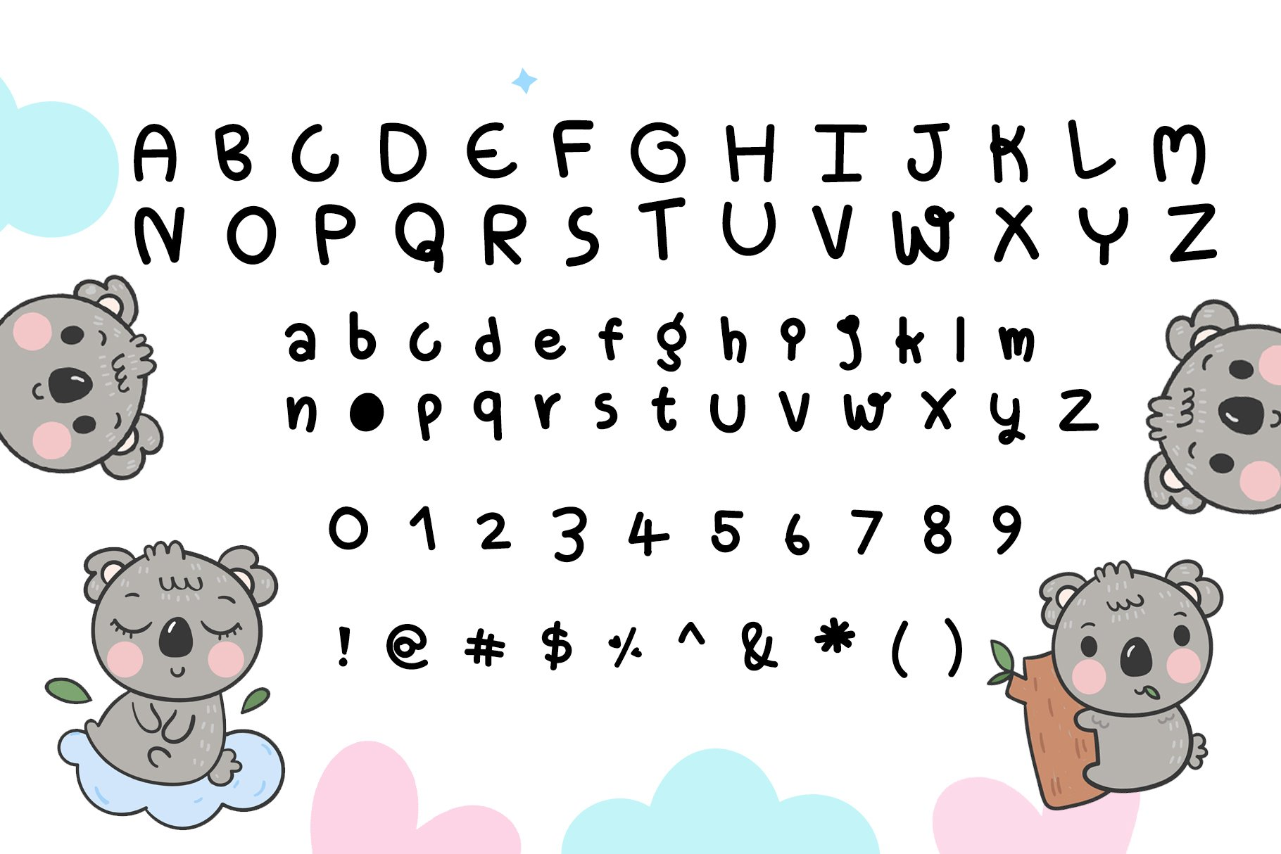 Live and Learn Baby Font- Handwritten Kawaii style! example image 5