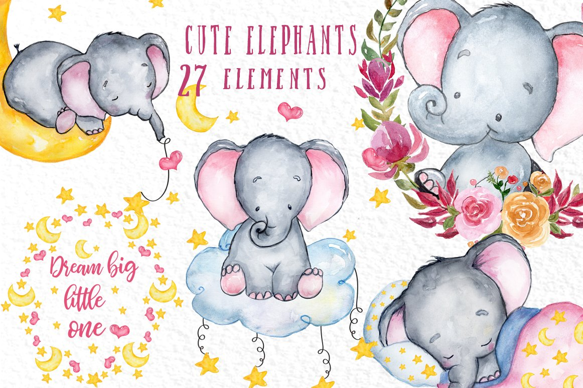 family #mummy #daddy #kids #elephants #4kids - Family Elephant Picture App  , Free Transparent Clipart - ClipartKey