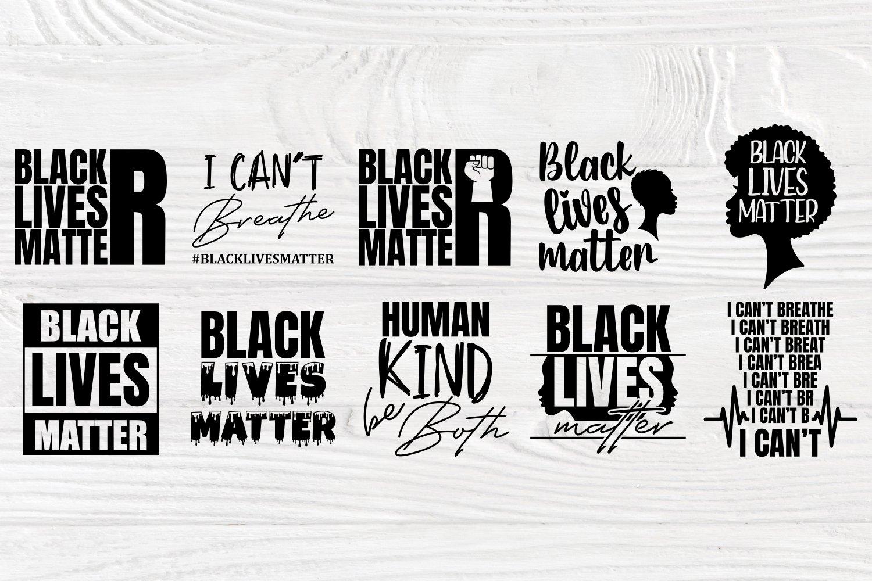 Black Lives Matter SVG Bundle, Juneteenth Svg, Black History example image 5