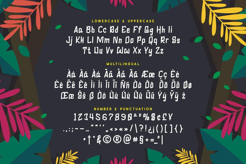 Gareth - Playful Display Font example image 4