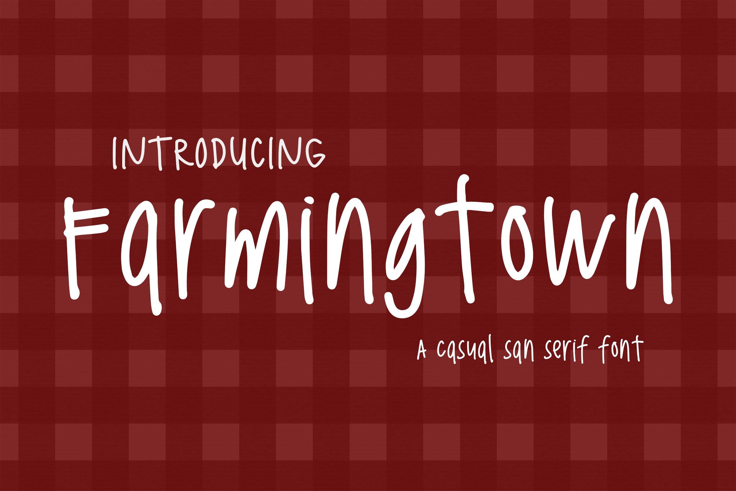 Farmingtown example image 1
