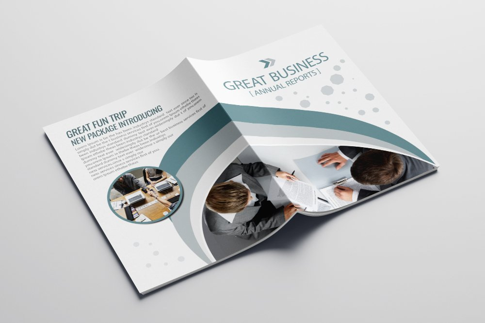 Business Bifold Brochure 16 Pages example image 4