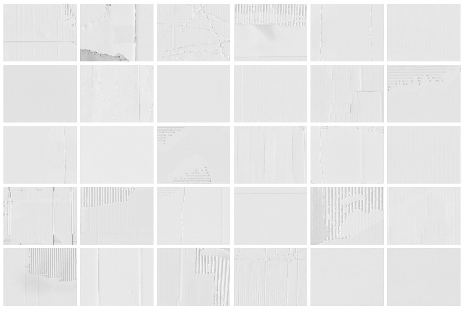 White Cardboard Textures 1 example image 8