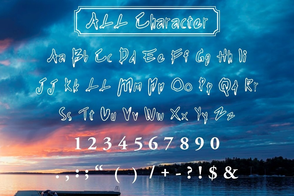 Agnezia - 5 Font styles and 150 Swashes example image 5