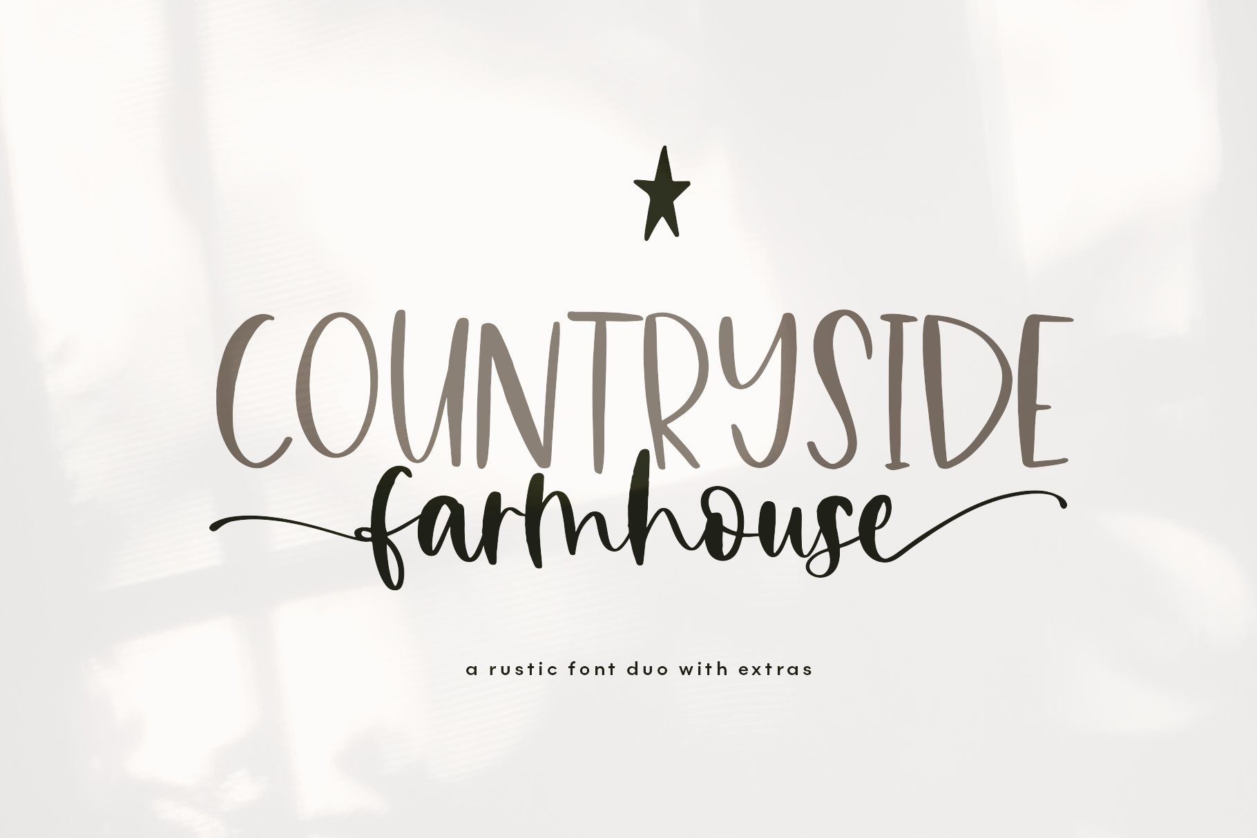 Farmhouse Font Bundle - Handwritten Fonts for Crafters! example image 26
