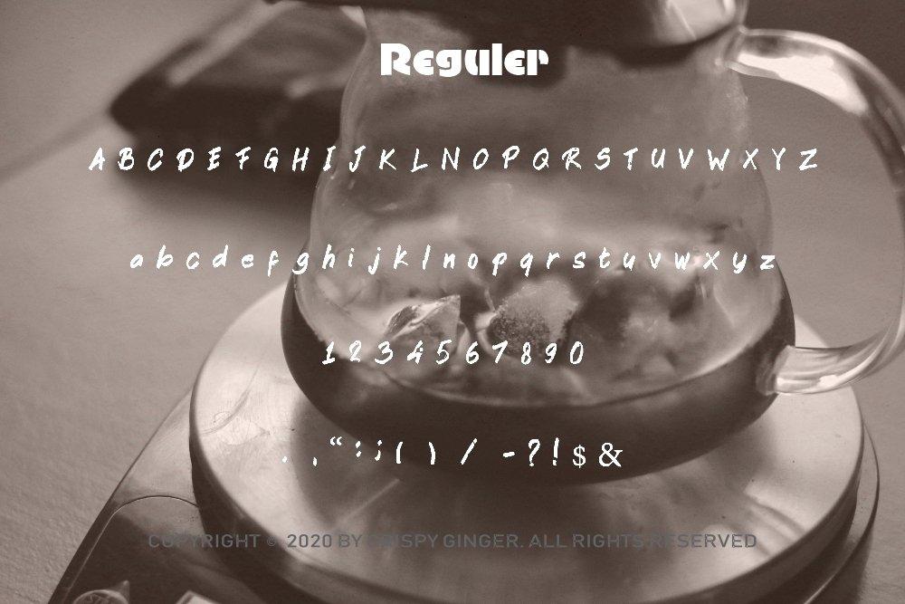 Kotoba Dua - 22 Font styles and 150 Swashes example image 5