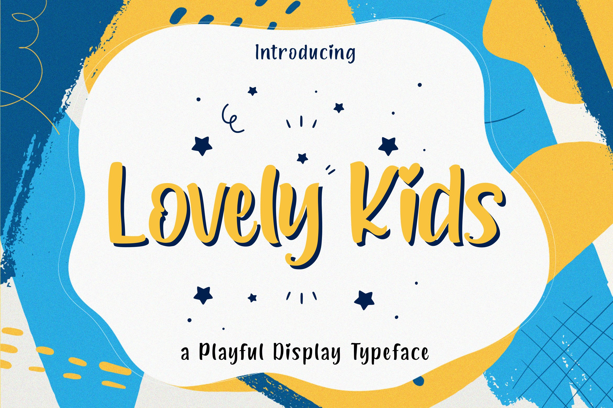 Lovely Kids - Playful Font example image 1