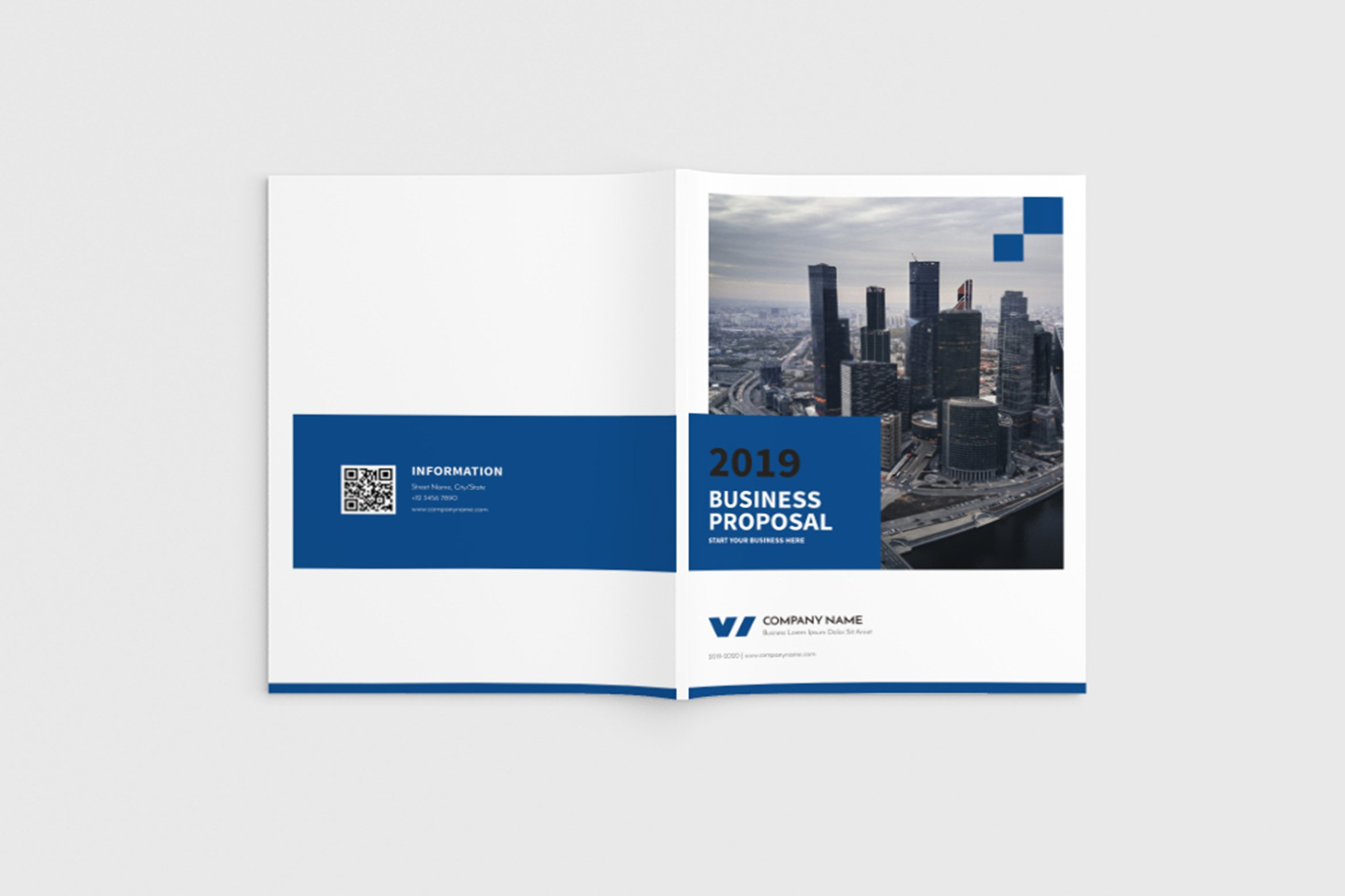 Walkers - A4 Business Brochure Template example image 1