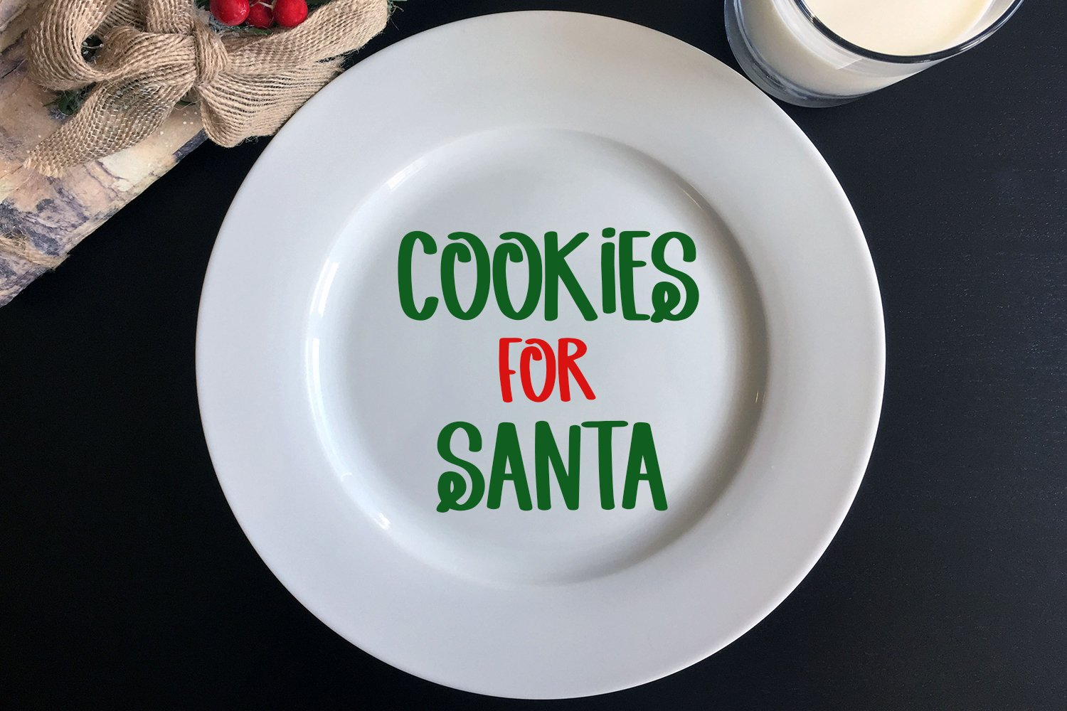 Christmas Spirit - A Hand-Lettered Christmas Font example image 2