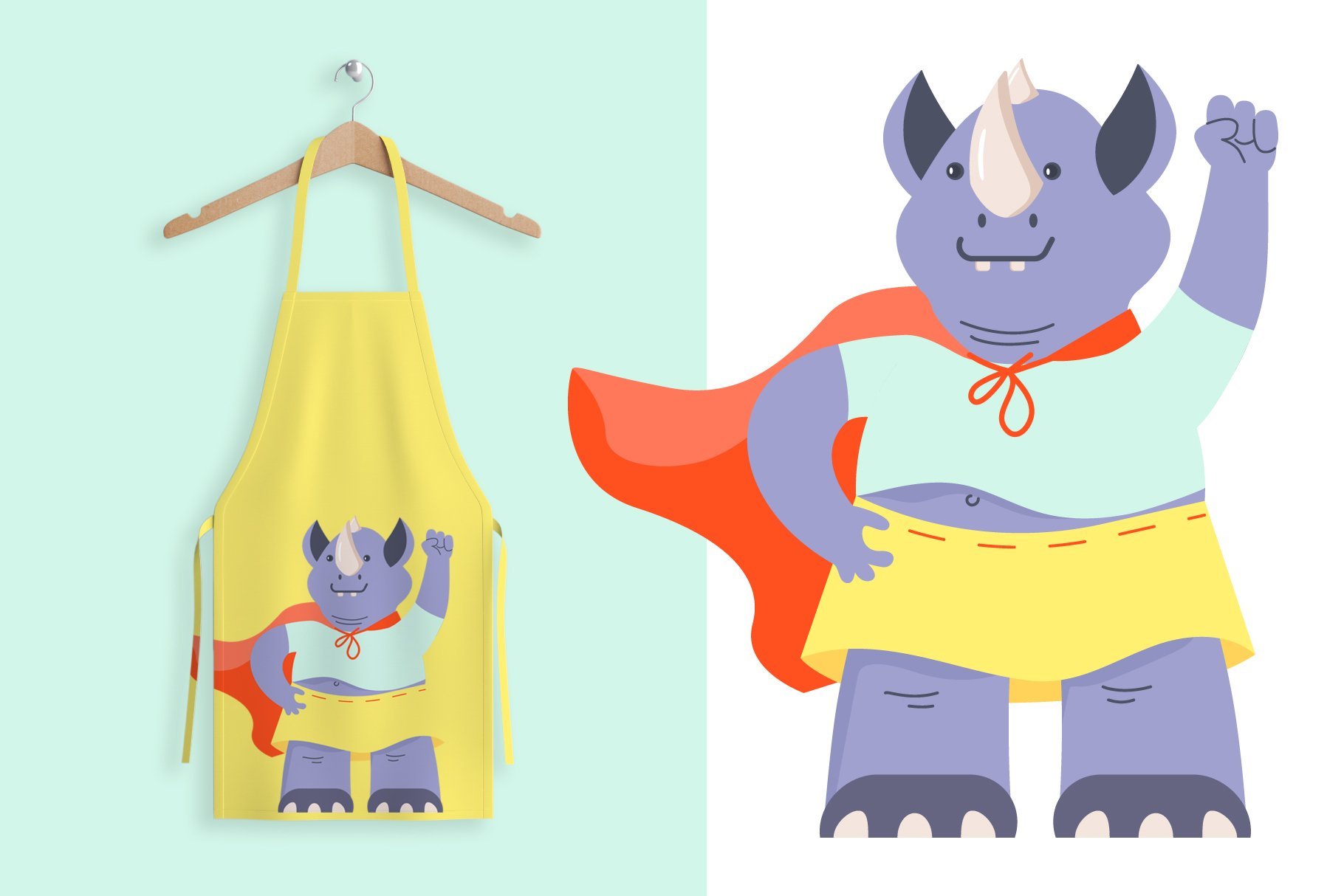 Funny Rhino characters example image 3