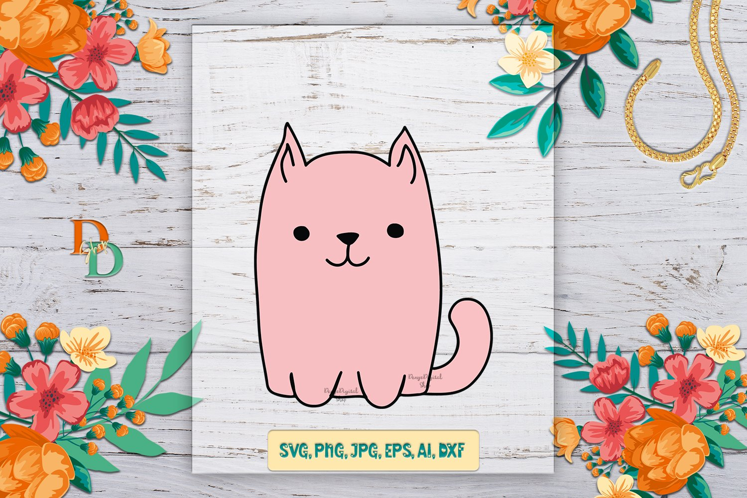 Cat Quotes SVG, digital quotes for printable, t shirt design example image 2