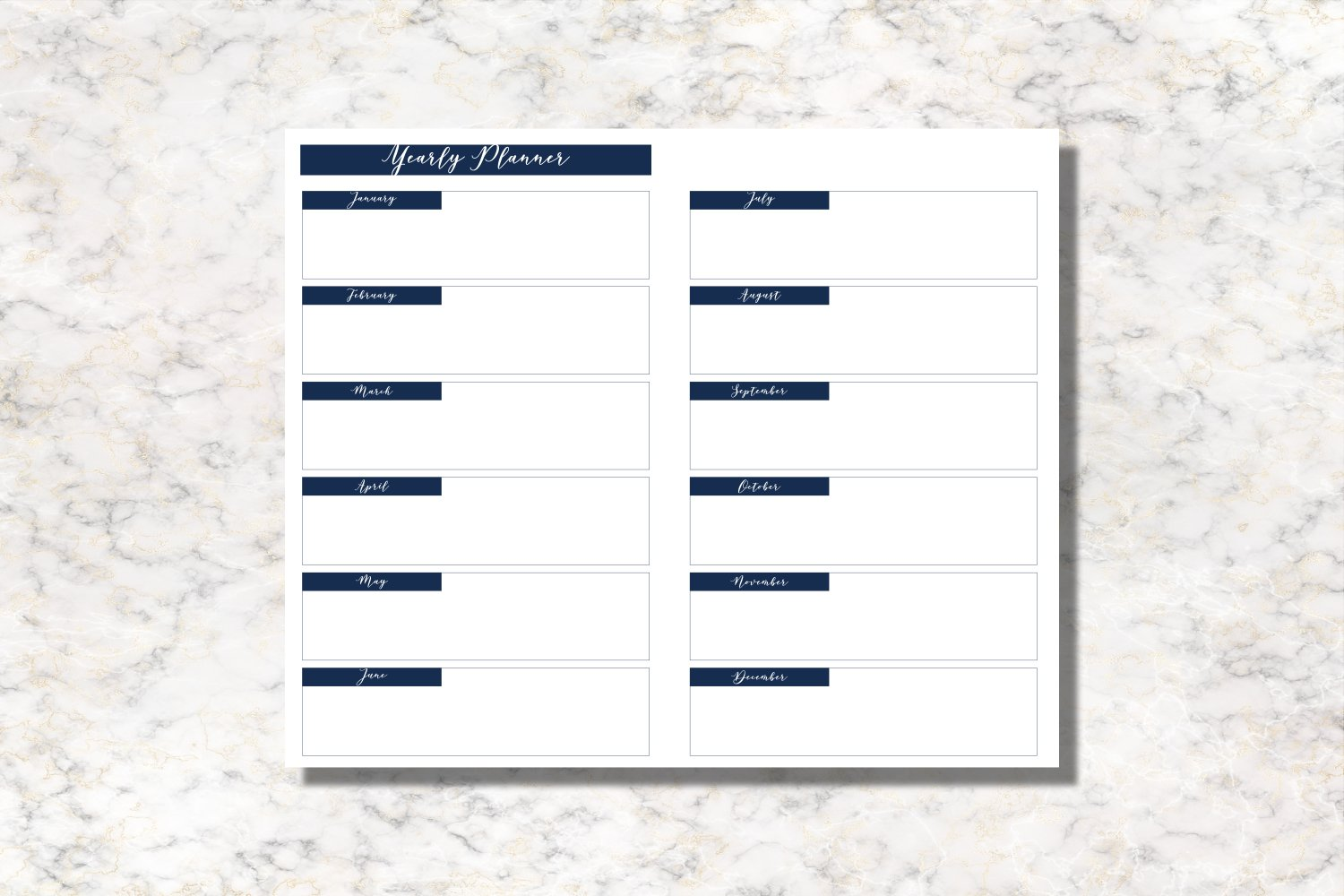 Starfish Cahier Size Notebook Inserts Planner example image 4