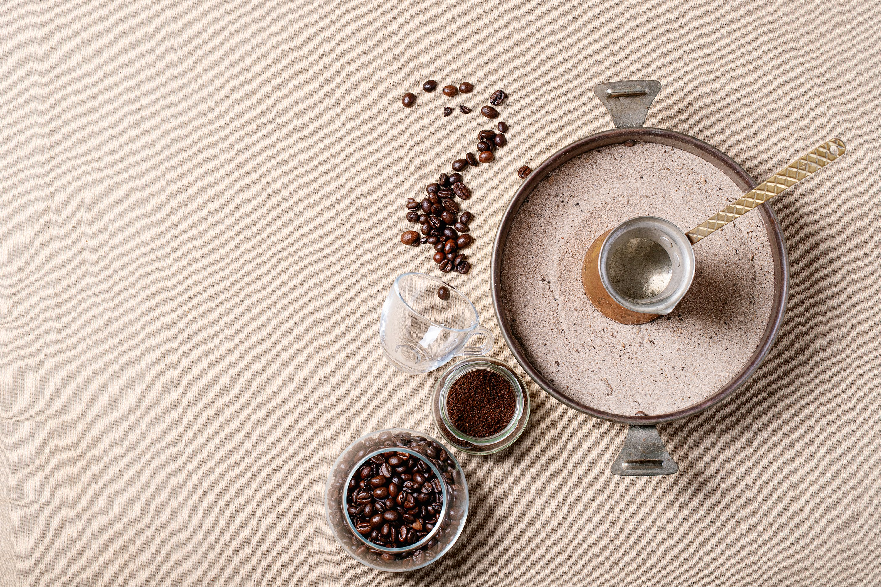 Fresh coffee beans example image 1