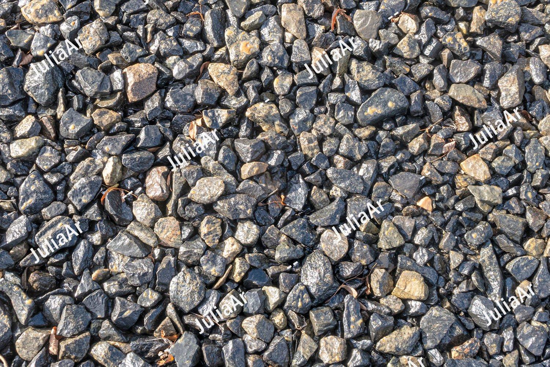 Wet stones. Texture. example image 1