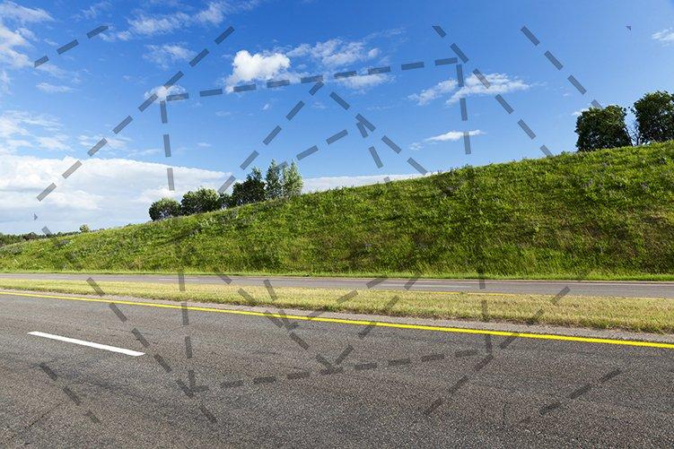 rural road in asphalt example image 1