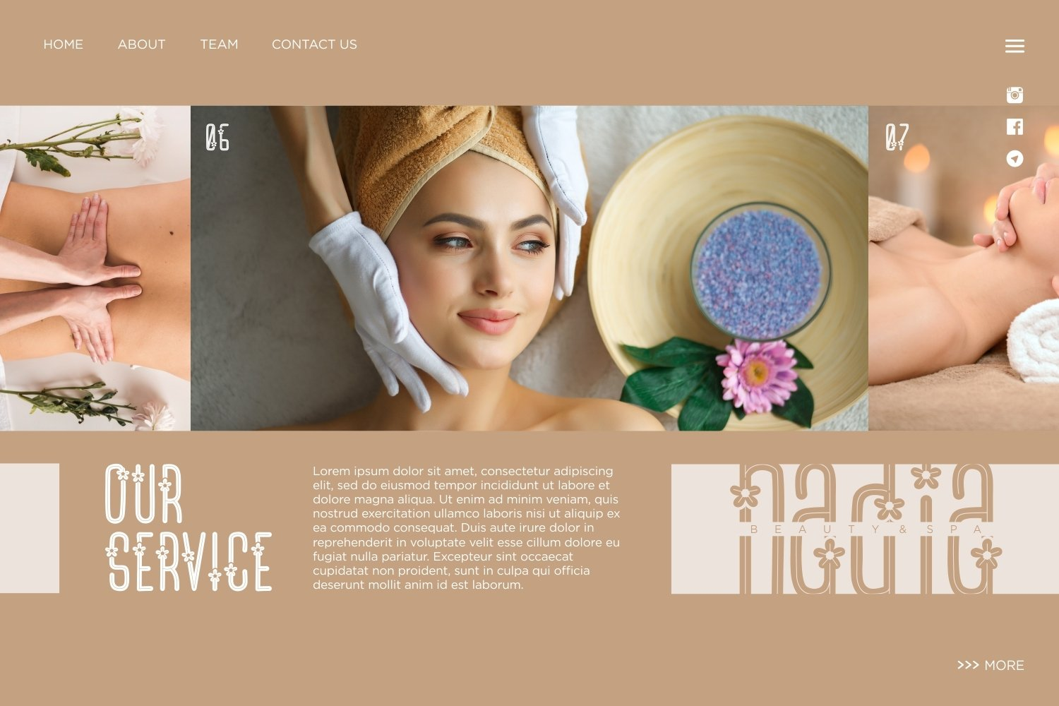 Flower Spa - Beautiful Display Font example image 5