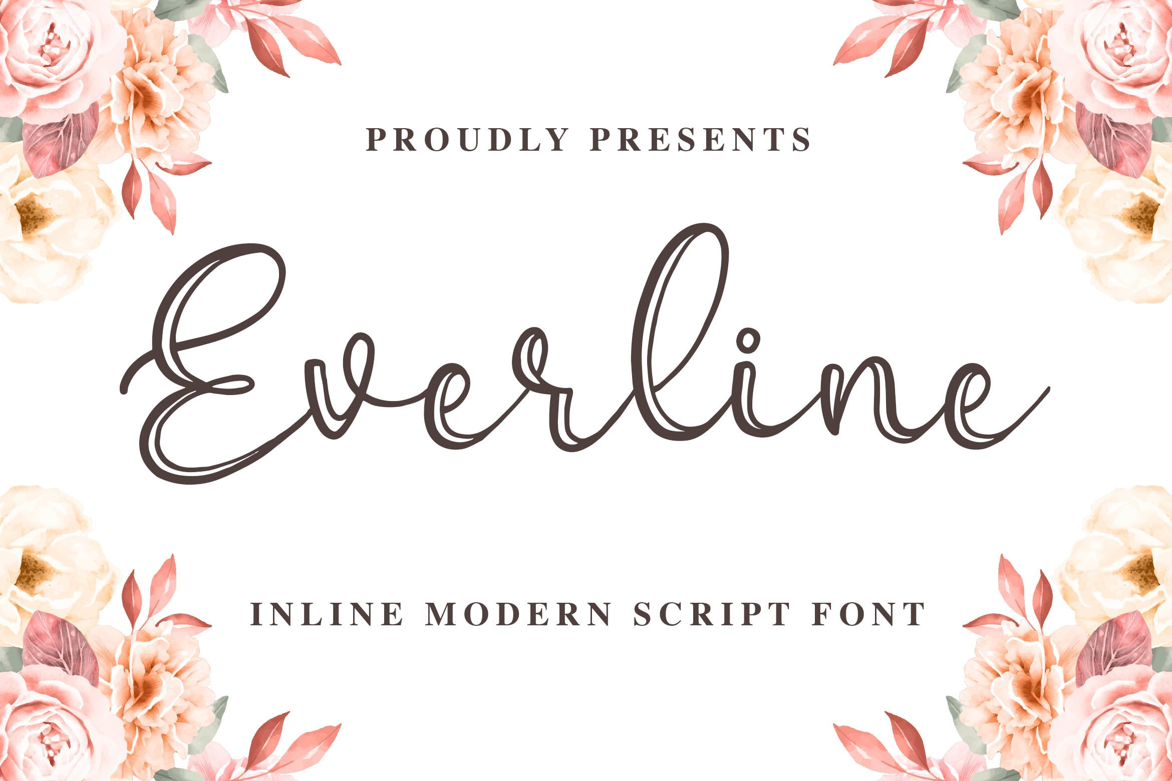 Everline - a Modern Calligraphy example image 1