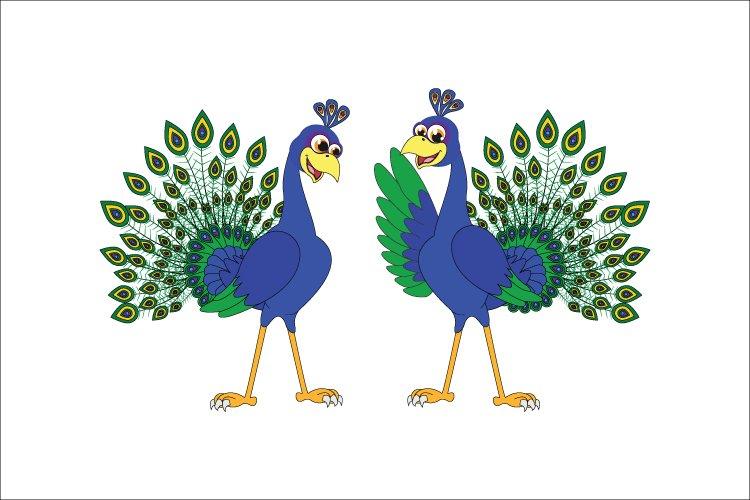 cute peacock cartoon 759827 illustrations design bundles cute peacock cartoon