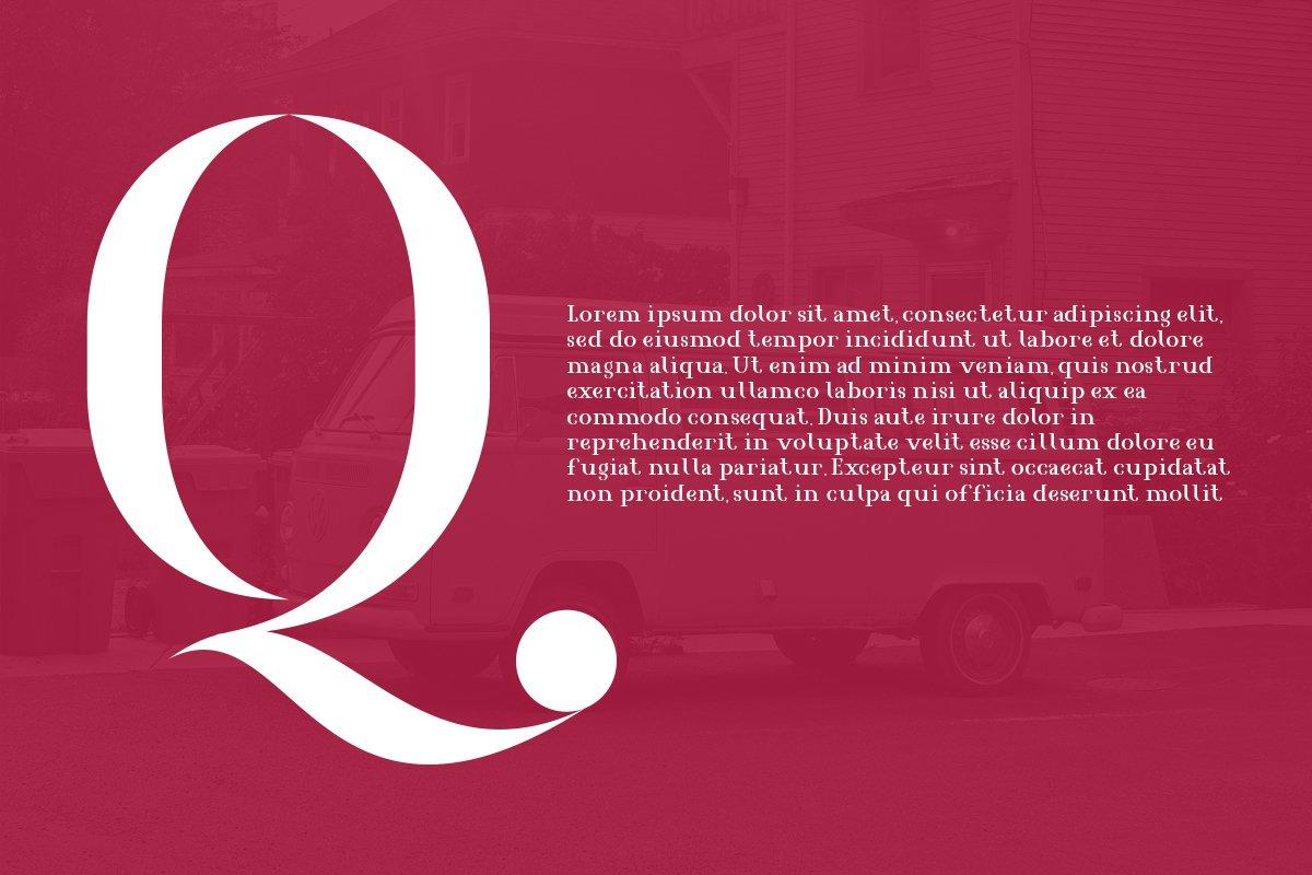 Agrasia | Serif Font example image 2