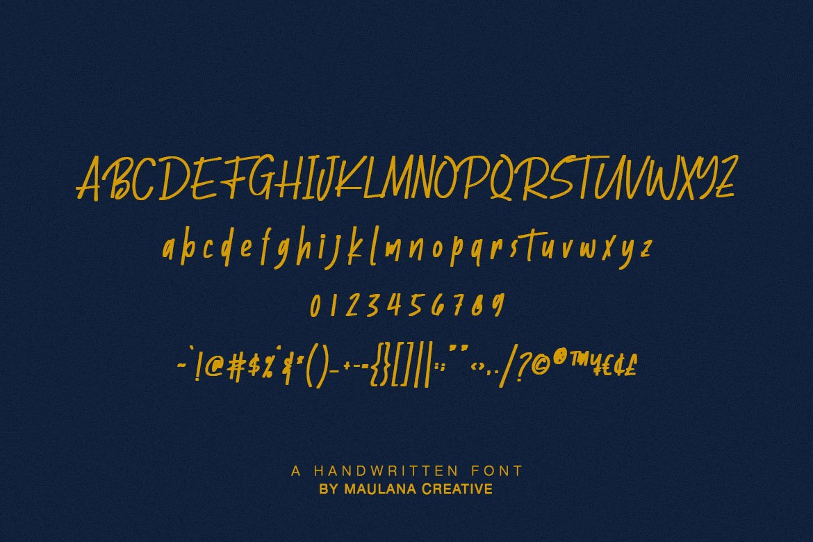 Batllers Handwritten Font example image 10