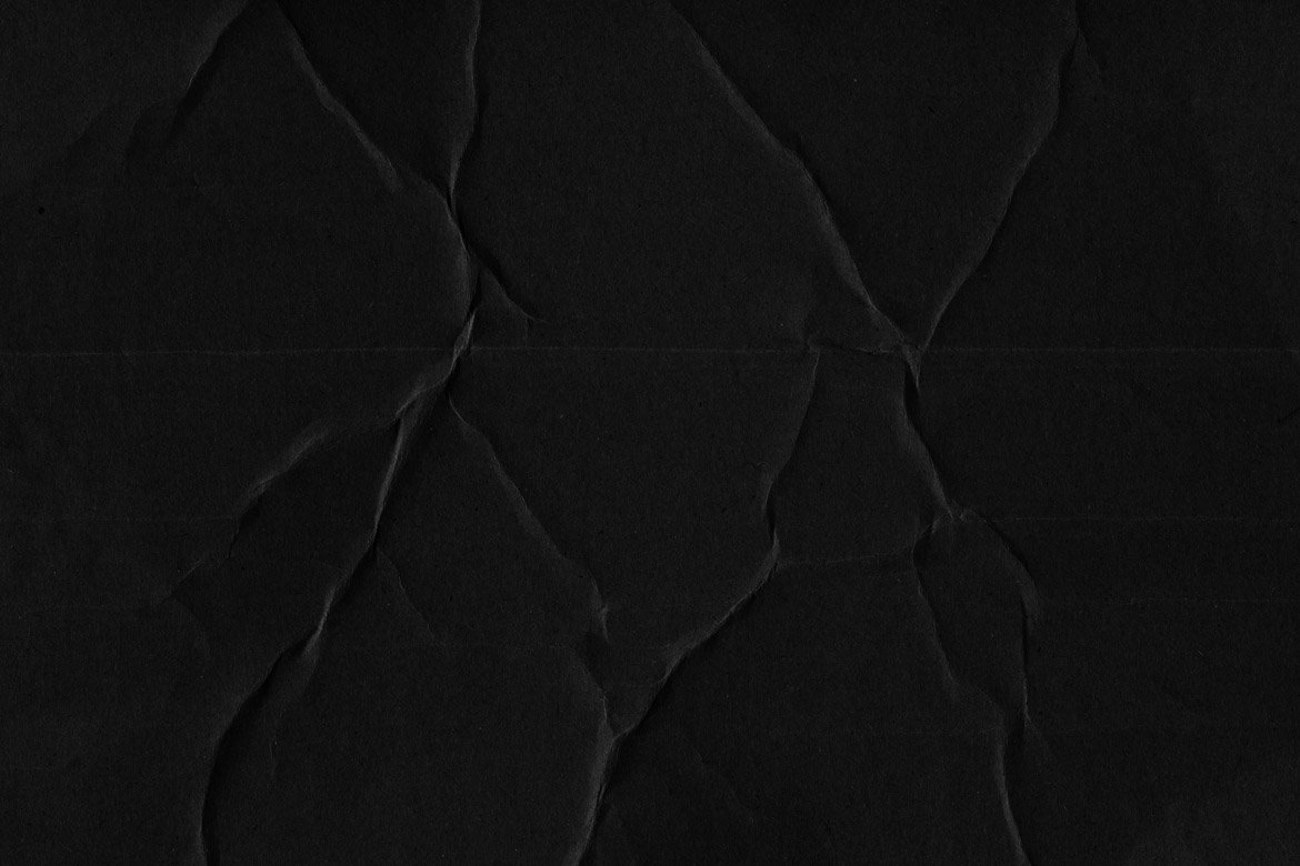 Black Cardboard Textures 3 example image 2