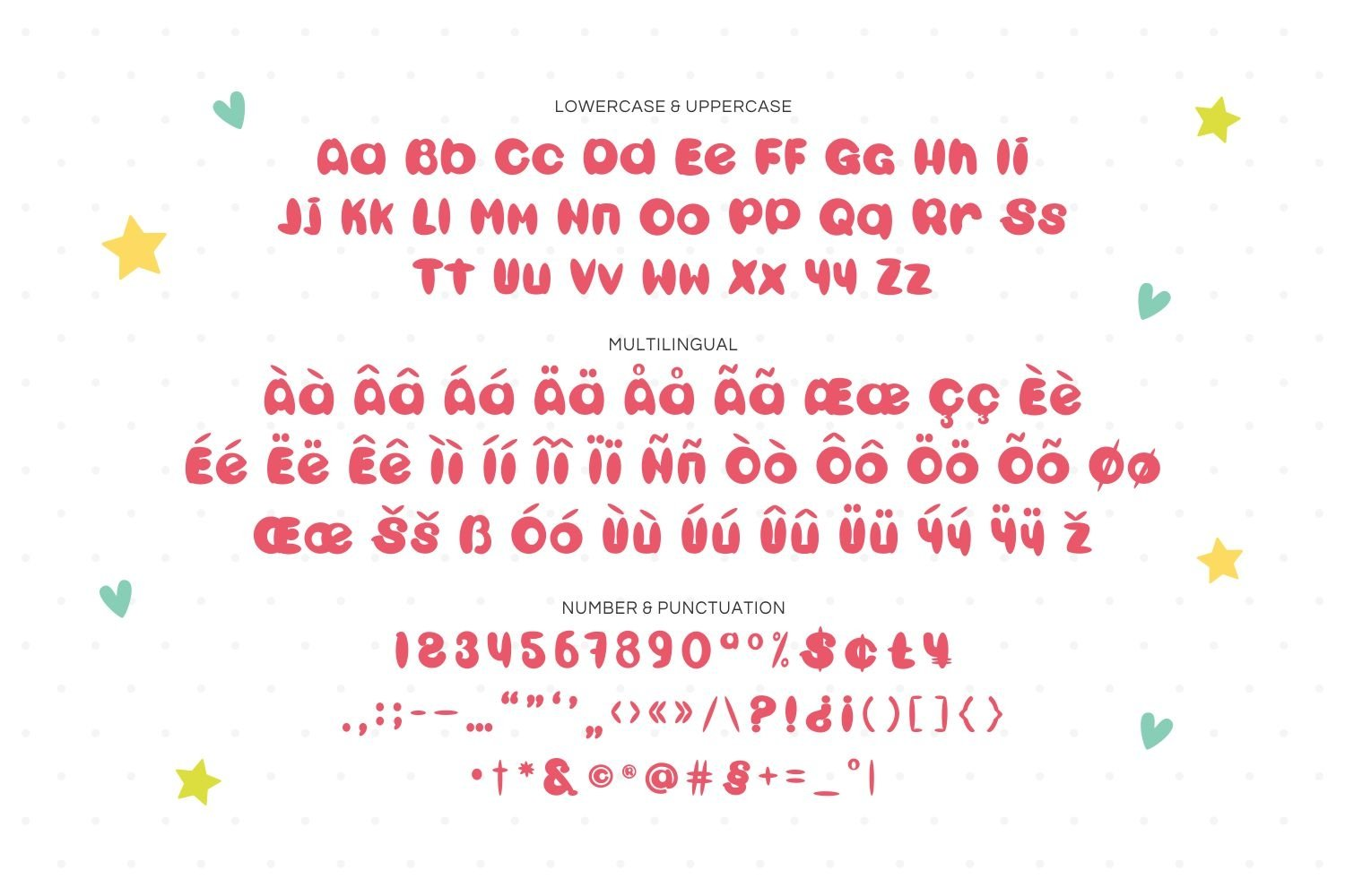 Baby Chia - Playful & Cute Display Font example image 3