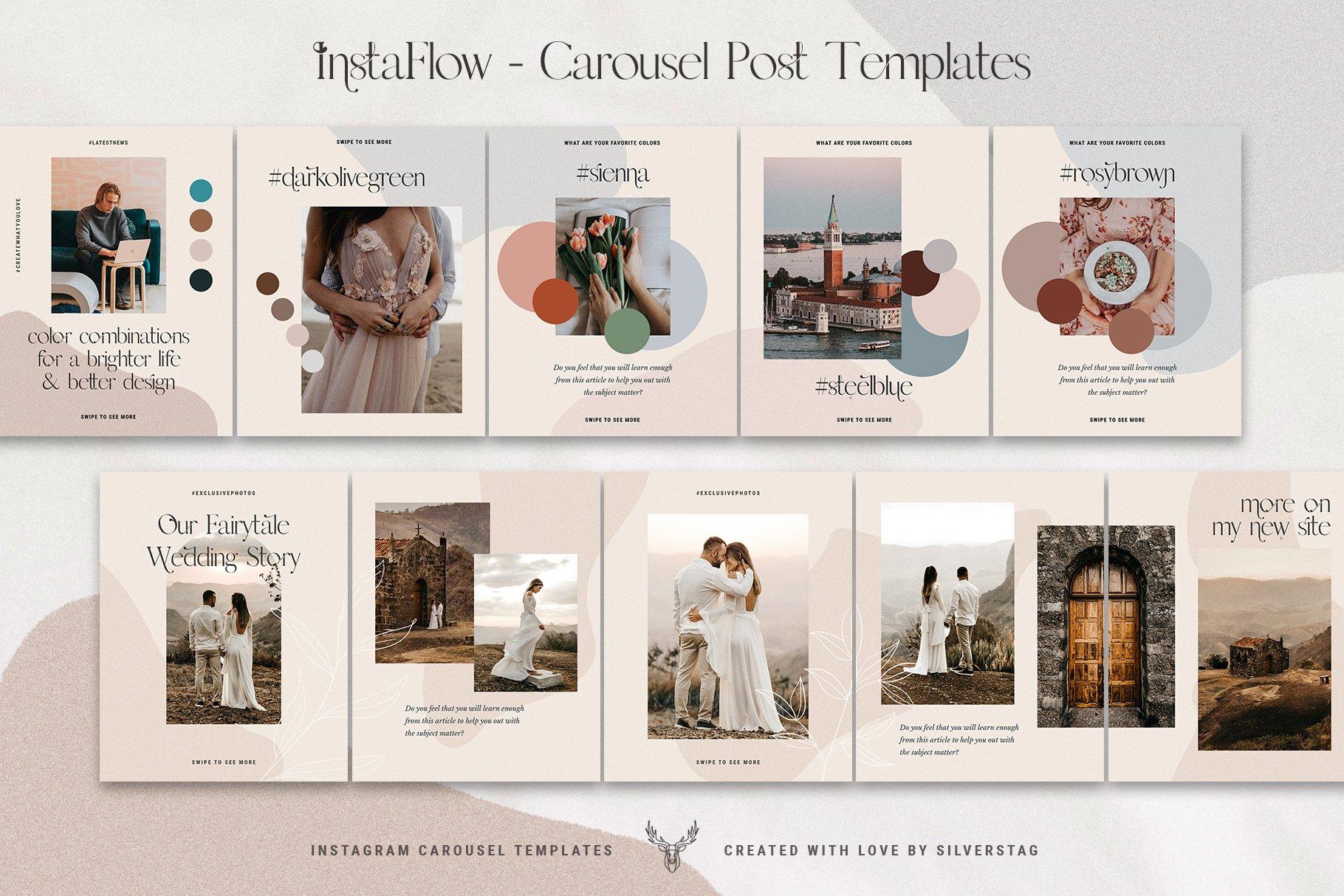 #InstaFlow Carousel Posts & Stories example image 6