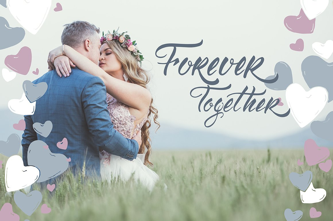6 Romantic cards and lettering example image 9