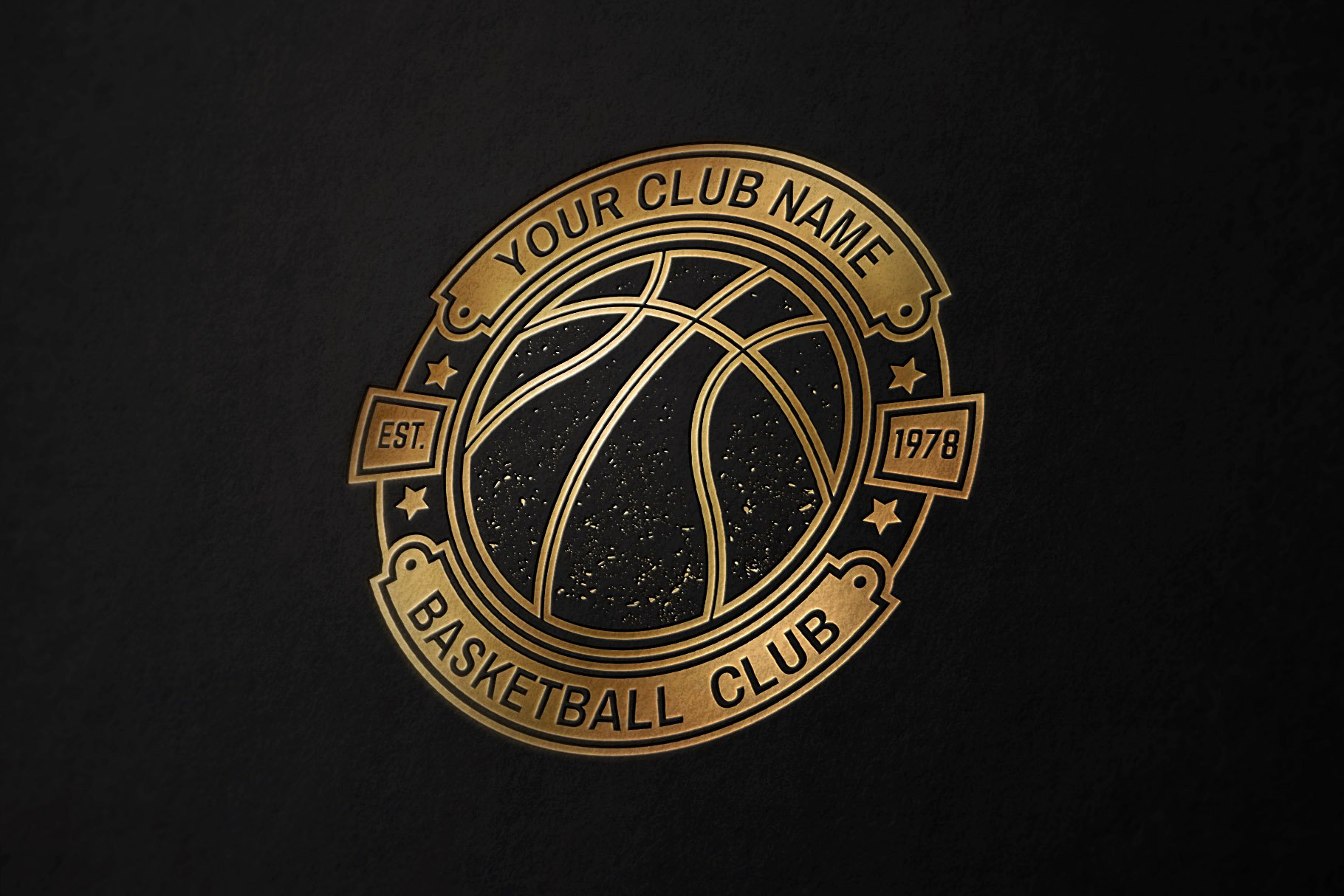 Basketball Club Badges and Labels example image 4