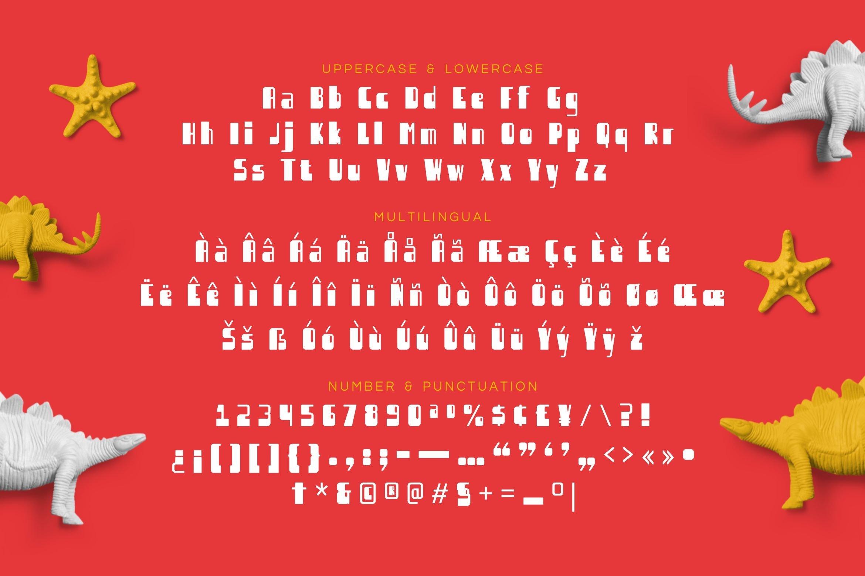 Redbelt Font example image 5