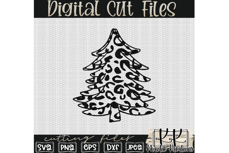 Leopard Christmas Tree Svg Christmas Svg Christmas Tree 906992 Cut Files Design Bundles