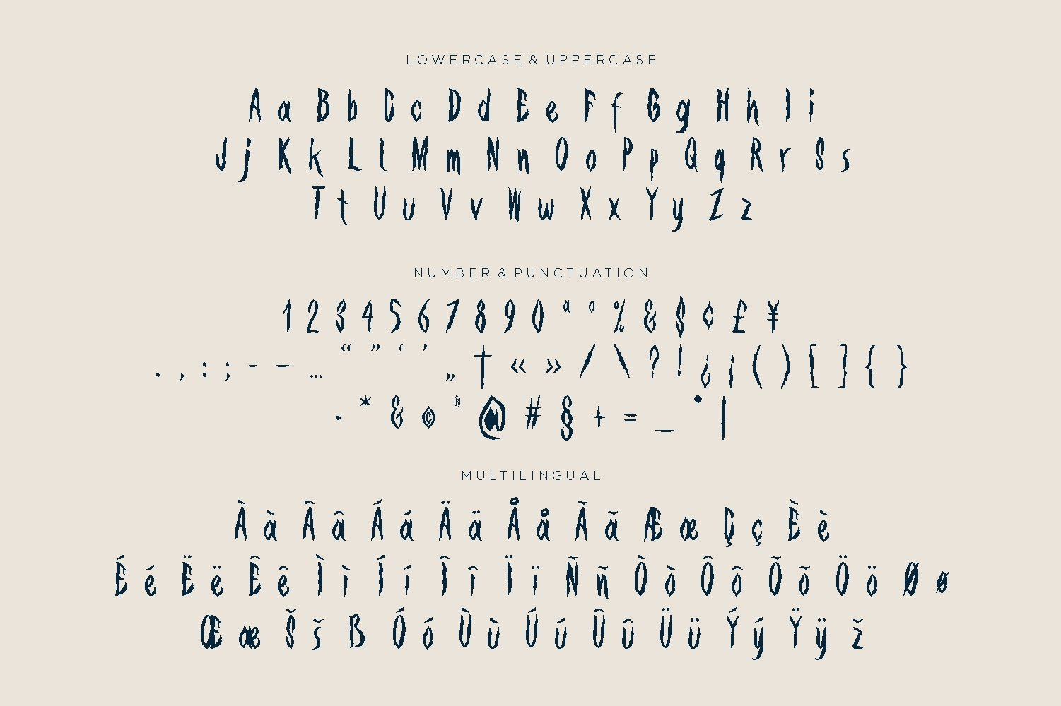 Spooky Vampire Font example image 2