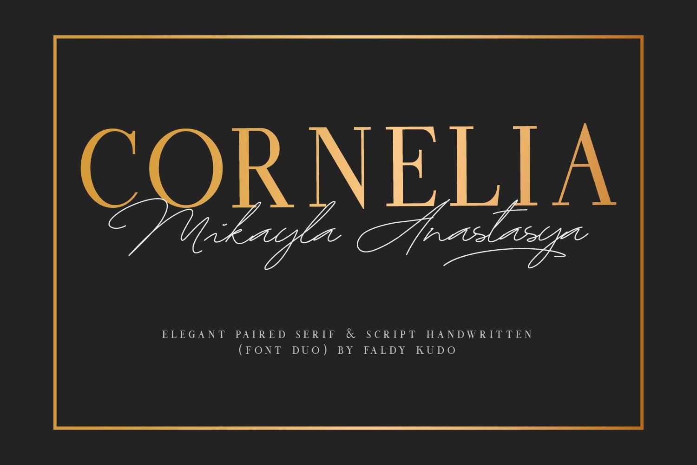 CORNELIA FONT DUO example image 1