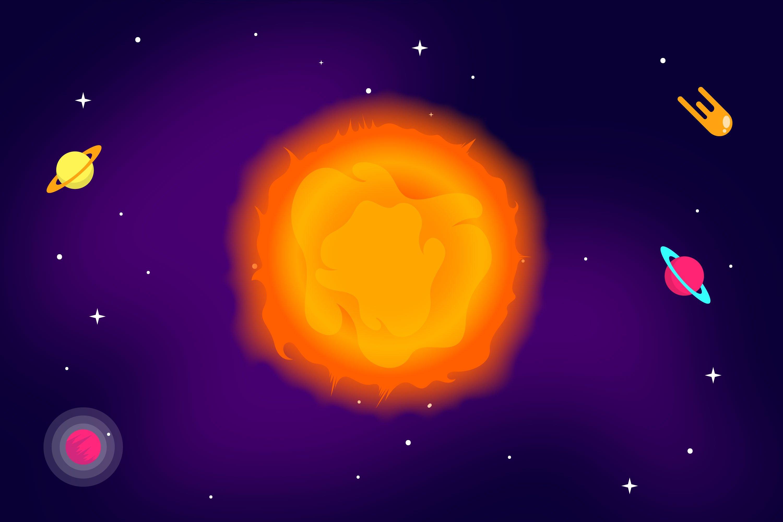Sun Illustrations example image 1