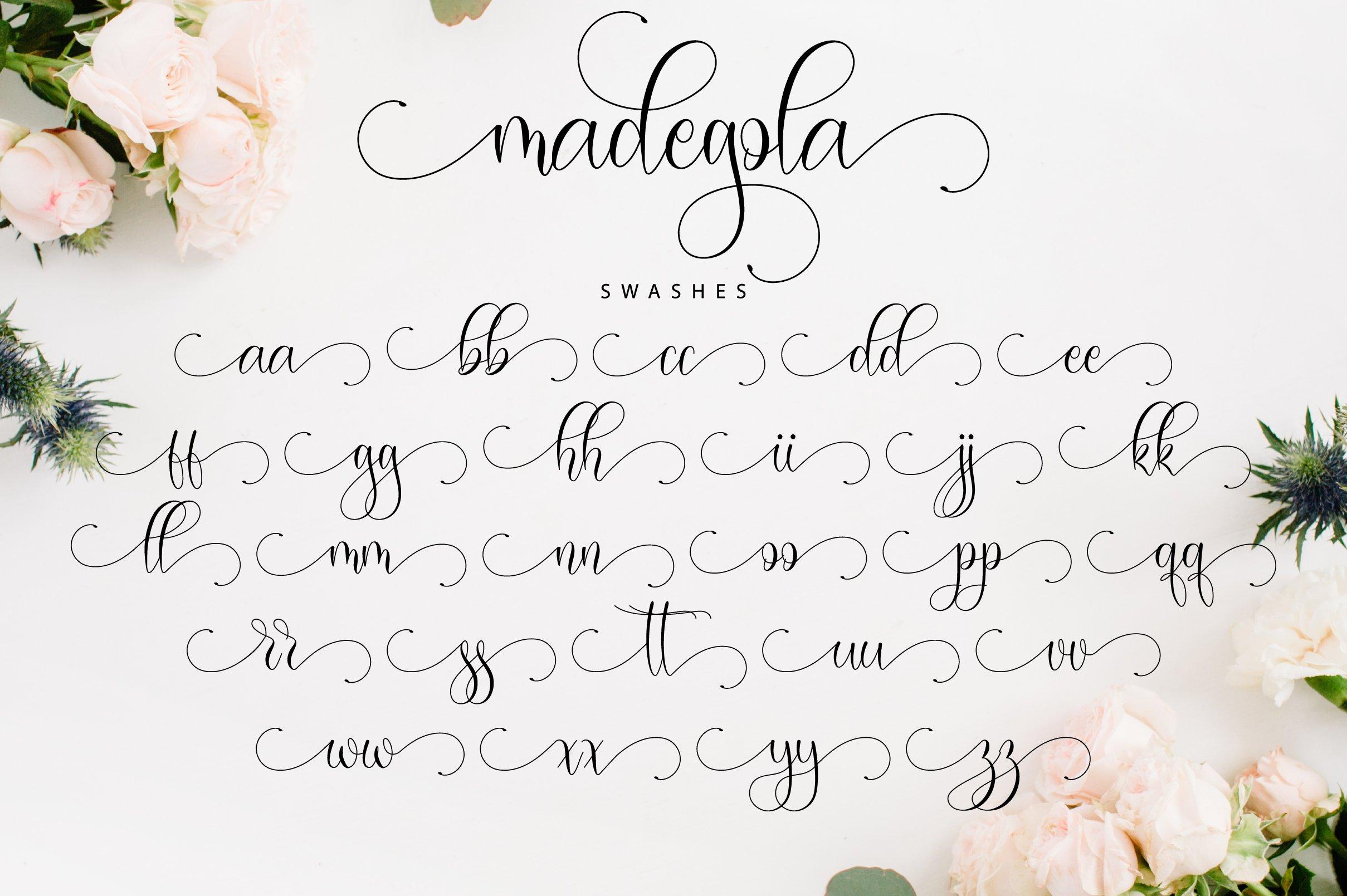 Madegola Script example image 12