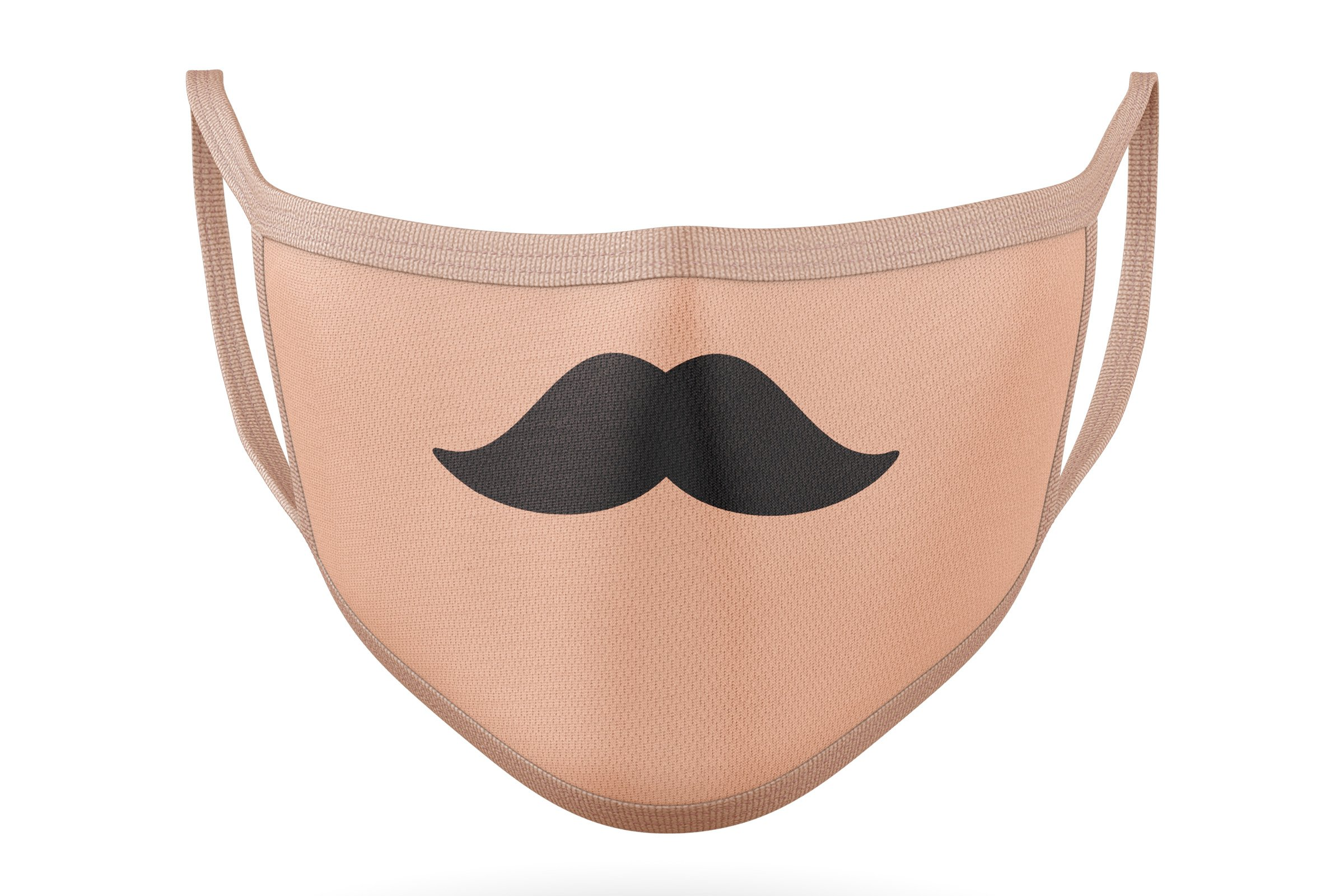 10 Funny Mustaches for Masks - SVG Cut Files example image 4